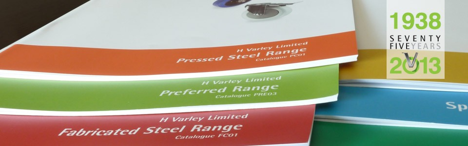 Varley Product Catalogues